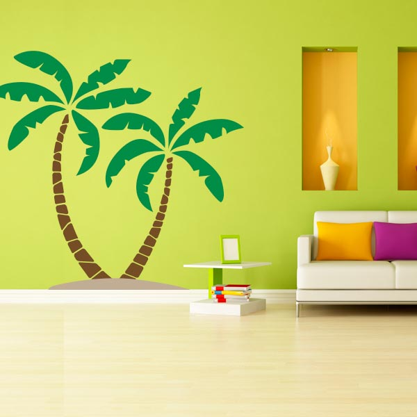 Palm Tree Wall Decal | Palm Tree Wall Art | Wall Decal World