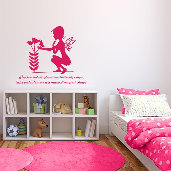 Magical Fairy Wall Decal