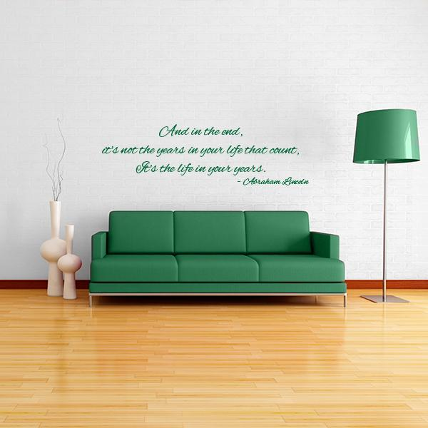 Lincoln Wall Decal