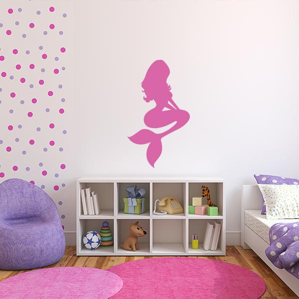 mermaid vinyl decal | mermaid decals for walls