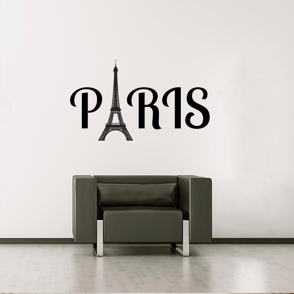 Attractive Paris Wall Decal