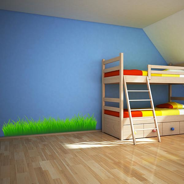 Green Grass Wall Decal