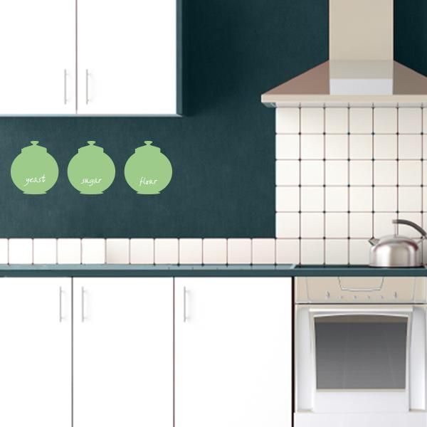 Kitchen Jars Wall Decals