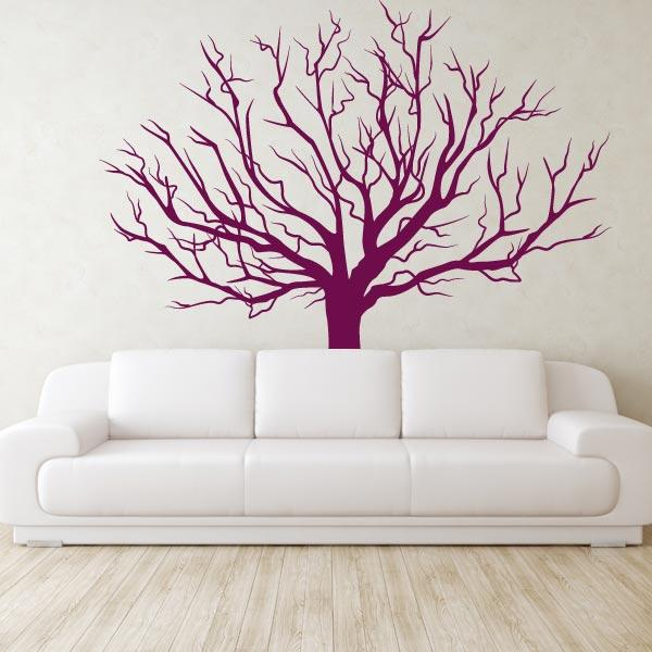 Vinyl Tree Decals Wall Tree Stickers Tree Wall Art For
