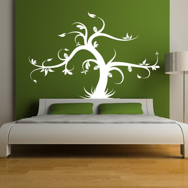 Tree With Grass Wall Decal