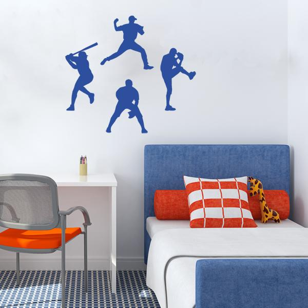 Baseball Player Wall Decals