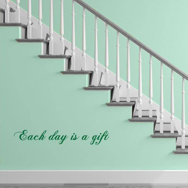 Each Day Gift Wall Decal