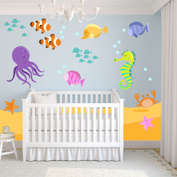 Underwater Wall Decals
