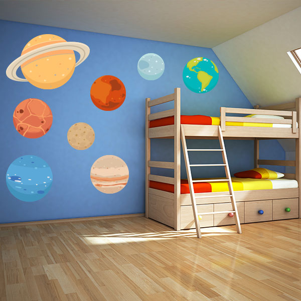 Planets Wall Decal Set
