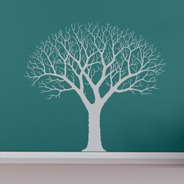 Beautiful Barren Tree Wall Decal