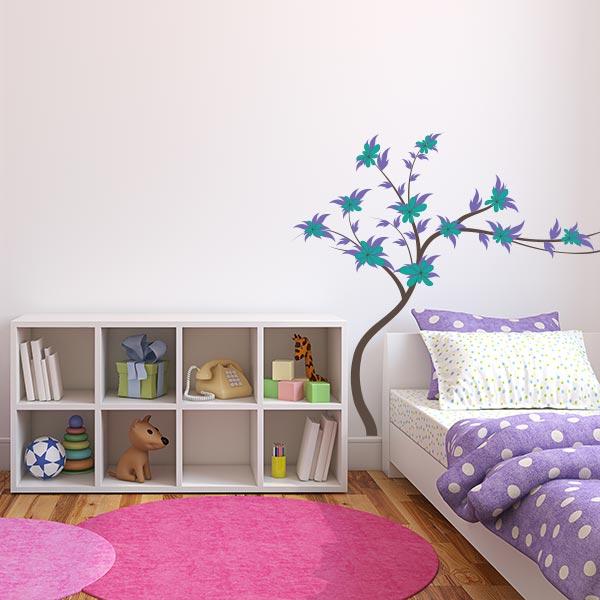 Nursery Flower Tree Wall Decal