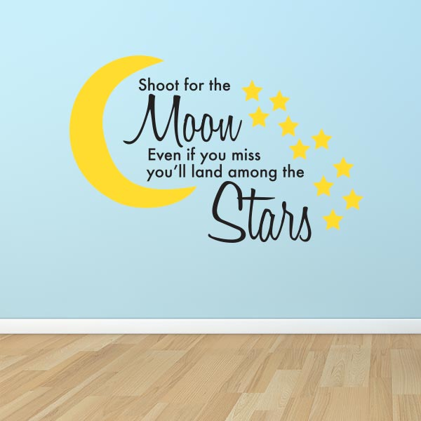 Land Among The Stars Wall Decal