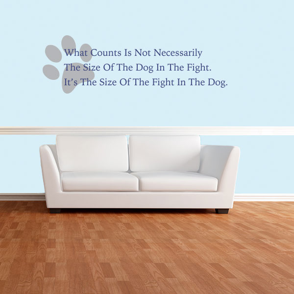 Dog Quote Wall Decal & Dog Quote Wall Decal | Wall Decal World