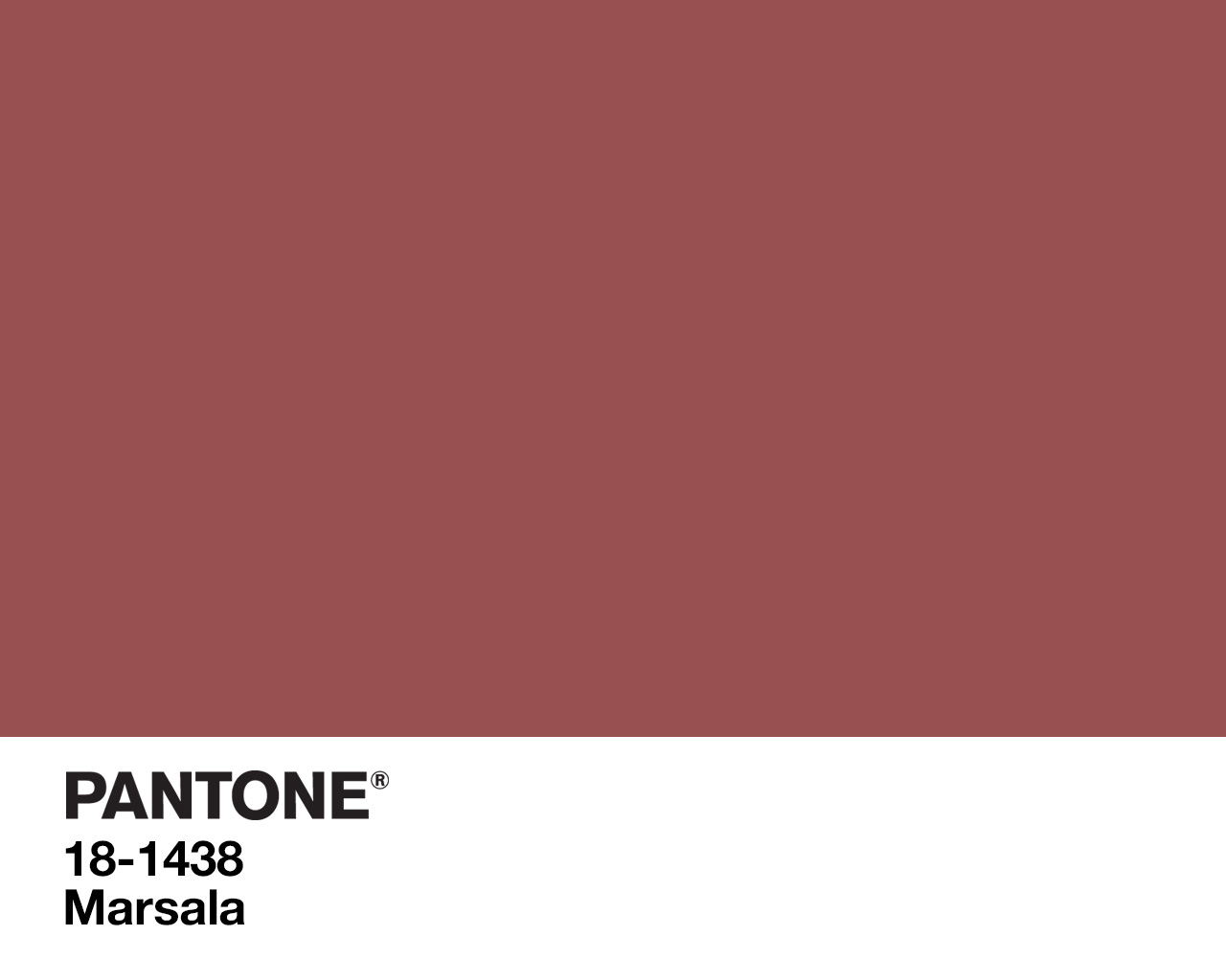 2015 Pantone Color Of The Year