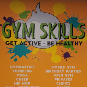 Gym Skills Lobby Business Wall Decal